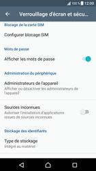 Sony Xperia XZ (F8331) - Sécuriser votre mobile - Personnaliser le code PIN de votre carte SIM - Étape 5