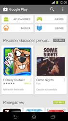 Sony Xperia Z1 - Aplicaciones - Tienda de aplicaciones - Paso 23