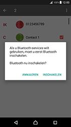 Sony Xperia XZ Premium (G8141) - Contacten en data - Contacten overzetten via Bluetooth - Stap 10