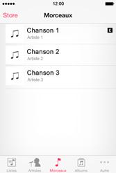 Apple iPhone 4S - Photos, vidéos, musique - Ecouter de la musique - Étape 4