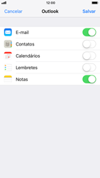Apple iPhone 7 - iOS 12 - Email - Como configurar seu celular para receber e enviar e-mails - Etapa 8