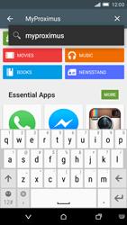 HTC One M9 - Applications - MyProximus - Step 5