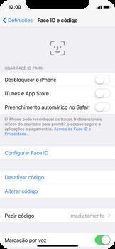 Apple iPhone X - Segurança - Como ativar o código de bloqueio do ecrã -  8
