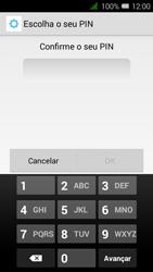 Alcatel Pixi 3 - Segurança - Como ativar o código de bloqueio do ecrã -  9