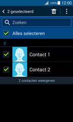 Samsung G357 Galaxy Ace 4 - Contactgegevens overzetten - delen via Bluetooth - Stap 7