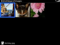 BlackBerry 9320 - Photos, vidéos, musique - Envoyer une photo via Bluetooth - Étape 6