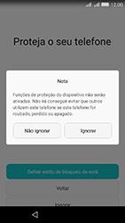 Huawei Y6 - Primeiros passos - Como ligar o telemóvel pela primeira vez -  12