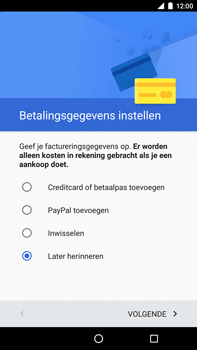Huawei Google Nexus 6P - Applicaties - Account aanmaken - Stap 18