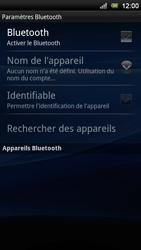 Sony Ericsson Xperia Neo V - Bluetooth - connexion Bluetooth - Étape 8
