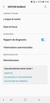 Samsung Galaxy A6 - Aller plus loin - Restaurer les paramètres d'usines - Étape 5