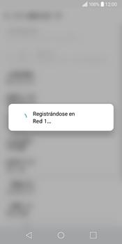 LG Q6 - Red - Seleccionar una red - Paso 9