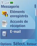 Nokia 3110 classic - E-mail - envoyer un e-mail - Étape 3