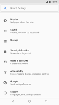 Nokia 8 Sirocco - Device - Reset to factory settings - Step 5