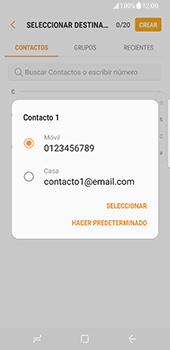 Samsung Galaxy S8 - Mensajería - Escribir y enviar un mensaje multimedia - Paso 6