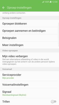Samsung Samsung G928 Galaxy S6 Edge + (Android M) - Voicemail - Handmatig instellen - Stap 6