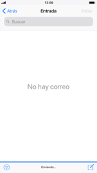 Apple iPhone 7 iOS 11 - E-mail - Escribir y enviar un correo electrónico - Paso 15