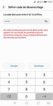 Huawei Mate 10 Pro - Sécuriser votre mobile - Activer le code de verrouillage - Étape 8
