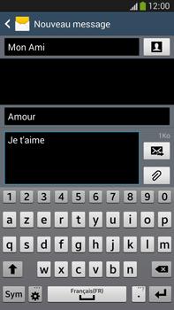 Samsung Galaxy Note 3 - Contact, Appels, SMS/MMS - Envoyer un MMS - Étape 13