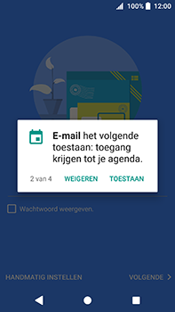 Sony Xperia XA2 Ultra - E-mail - e-mail instellen (outlook) - Stap 11