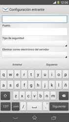 Sony Xperia M2 - E-mail - Configurar correo electrónico - Paso 9