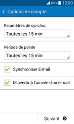 Samsung G355 Galaxy Core 2 - E-mail - Configuration manuelle - Étape 17