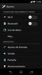 Sony Xperia L - Internet - Ver uso de datos - Paso 4