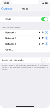 Apple iPhone XS - Wi-Fi - Connect to a Wi-Fi network - Step 5