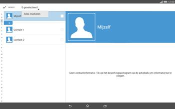 Sony Xperia Tablet Z2 4G (SGP521) - Contacten en data - Contacten overzetten via Bluetooth - Stap 8