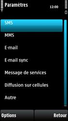 Nokia X6-00 - SMS - configuration manuelle - Étape 5