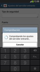 Samsung Galaxy S4 Mini - E-mail - Configurar correo electrónico - Paso 11