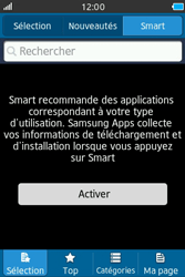 Samsung Wave M - Applications - Télécharger une application - Étape 6