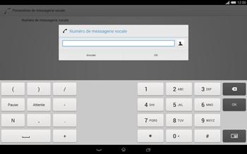 Sony Xperia Tablet Z2 (SGP521) - Messagerie vocale - configuration manuelle - Étape 9