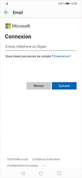 Huawei Mate 20 lite - E-mails - Ajouter ou modifier votre compte Outlook - Étape 5