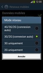 Samsung Galaxy Ace 3 - Internet et connexion - Activer la 4G - Étape 7