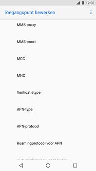 Nokia 6 (2018) - MMS - handmatig instellen - Stap 11