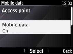 Nokia Asha 210 - Internet - Enable or disable - Step 6