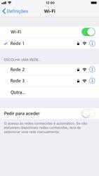 Apple iPhone 8 - iOS 12 - Wi-Fi - Como ligar a uma rede Wi-Fi -  7