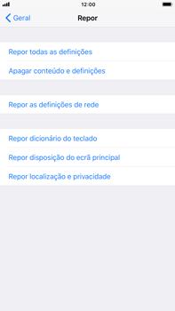 Apple iPhone 6s Plus - iOS 11 - Repor definições - Como repor definições de fábrica do telemóvel -  6