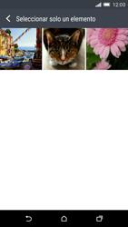 HTC One M9 - Mensajería - Escribir y enviar un mensaje multimedia - Paso 17