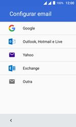 Alcatel Pixi 4 - Email - Como configurar seu celular para receber e enviar e-mails - Etapa 7