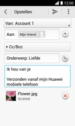 Huawei Ascend Y330 - E-mail - E-mails verzenden - Stap 14