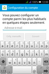 Alcatel Pixi 3 Dual Sim - E-mails - Ajouter ou modifier un compte e-mail - Étape 6