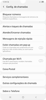 Samsung Galaxy A50 - Chamadas - Como bloquear chamadas de um número específico - Etapa 7