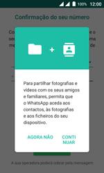 Wiko Sunny DS - Aplicações - Como configurar o WhatsApp -  6