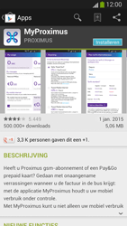 Samsung I9300 Galaxy S III - Applicaties - MyProximus - Stap 8