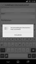 Sony D5803 Xperia Z3 Compact - E-mail - Account instellen (POP3 zonder SMTP-verificatie) - Stap 11