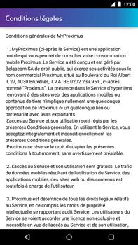 Motorola Nexus 6 - Applications - MyProximus - Étape 11