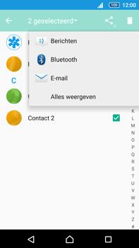 Sony E6853 Xperia Z5 Premium - Contactgegevens overzetten - delen via Bluetooth - Stap 8