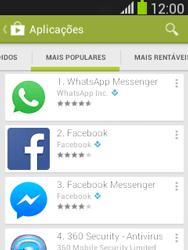 Samsung Galaxy Pocket Neo - Aplicações - Como pesquisar e instalar aplicações -  8