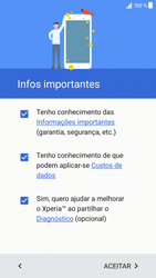 Sony Xperia XZ - Android Nougat - Primeiros passos - Como ligar o telemóvel pela primeira vez -  5